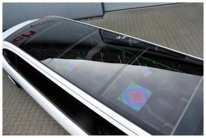 Lichteffekt Auto Dach Party Überraschung