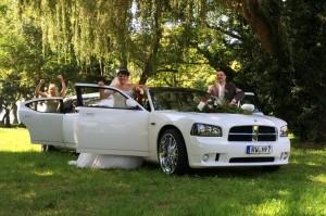 Hochzeitsbilder Stretchlimousine