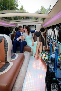 Partygäste Limousine