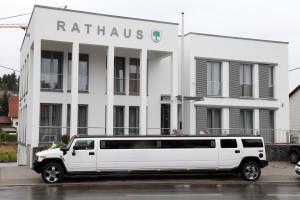 Hummer H2 Rathaus Hochzeit