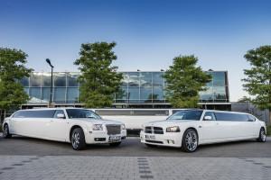 Weiße Limousine mieten